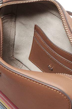ANYA HINDMARCH Rainbow embossed leather shoulder bag