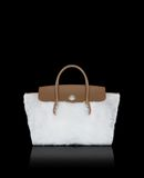 MONCLER EVERA LARGE - Large leather bags - women