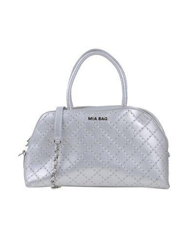MIA BAG レディース ハンドバッグ シルバー ポリウレタン 100%