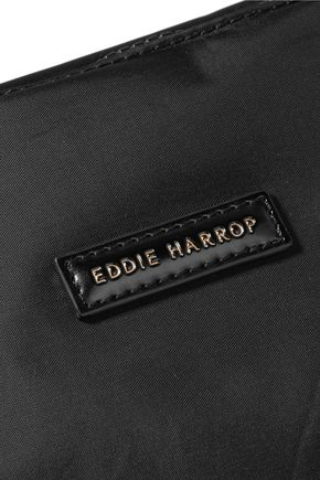 EDDIE HARROP Goer leather-trimmed shell tote