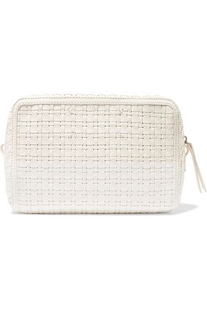 MAISON MARGIELA Woven leather clutch