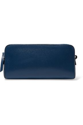 MAISON MARGIELA Textured-leather clutch