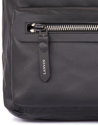 LANVIN GRAINED CALFSKIN BACKPACK Backpack U a