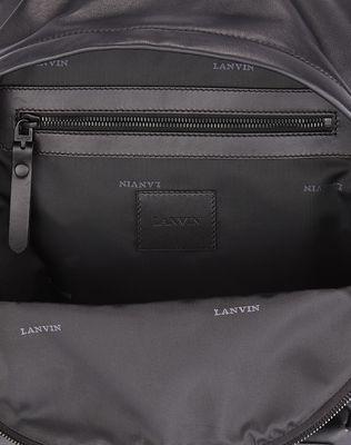 LANVIN GRAINED CALFSKIN BACKPACK Backpack U e