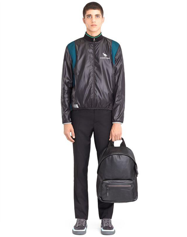 LANVIN GRAINED CALFSKIN BACKPACK Backpack U b