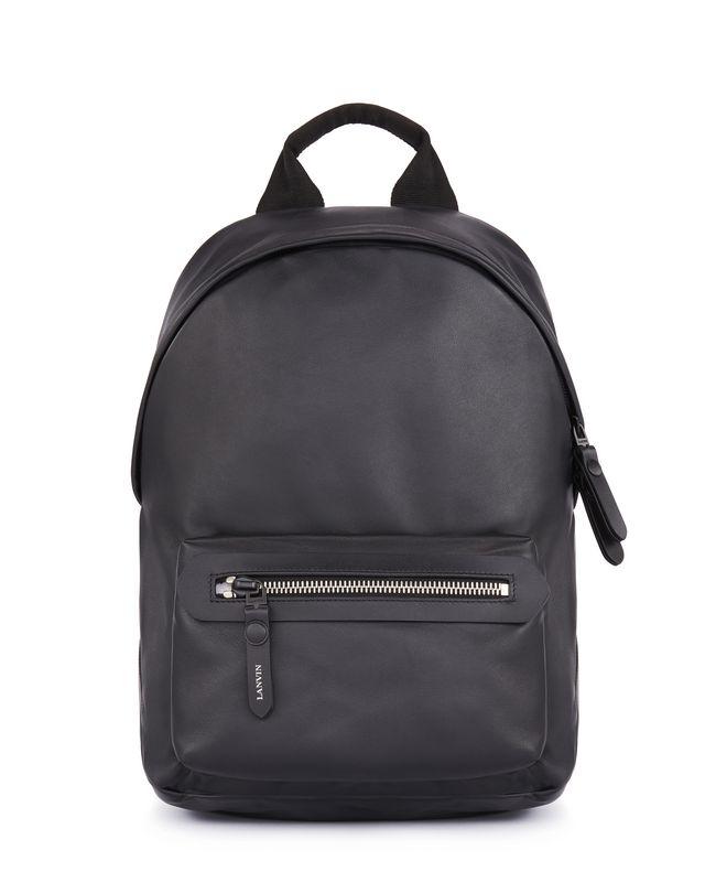 LANVIN GRAINED CALFSKIN BACKPACK Backpack U f