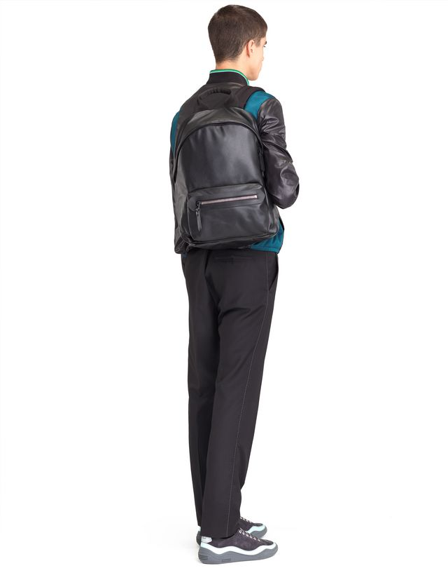 LANVIN GRAINED CALFSKIN BACKPACK Backpack U r