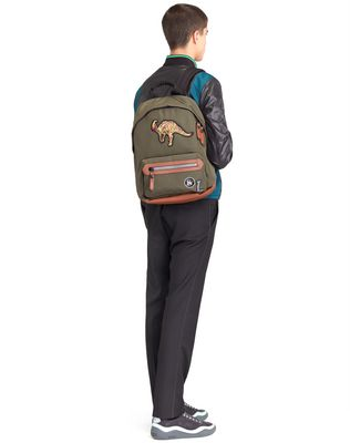 LANVIN BACKPACK WITH PATCHES Backpack U r
