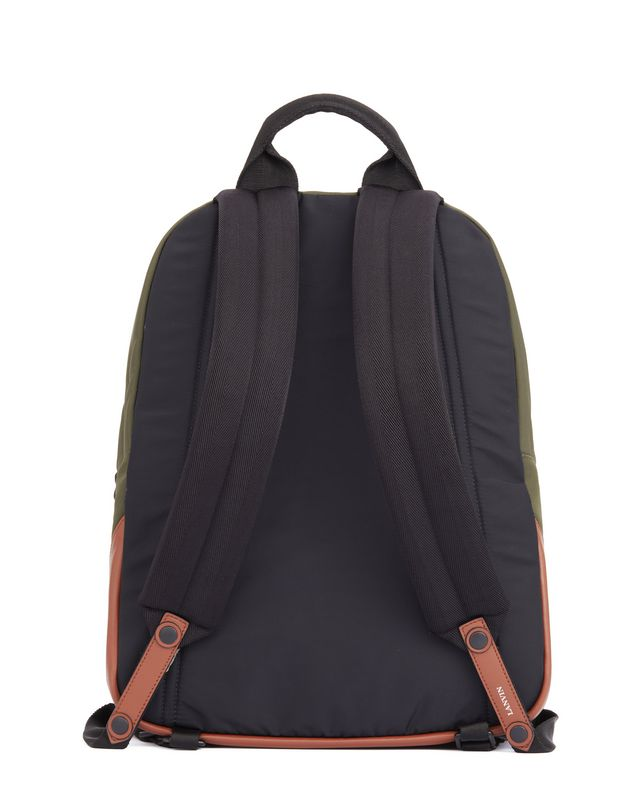LANVIN BACKPACK WITH PATCHES Backpack U d