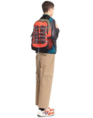 """ENTER NOTHING"" ZIPPED BACKPACK"