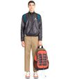 "LANVIN Backpack Man ""ENTER NOTHING"" ZIPPED BACKPACK f"