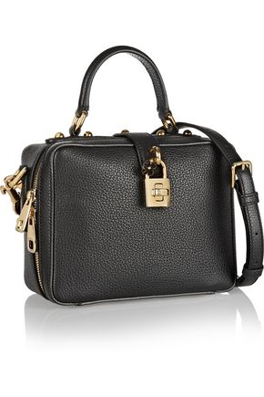 DOLCE & GABBANA Rosaria mini pebbled-leather shoulder bag