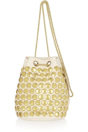 JÉRÔME DREYFUSS Popeye studded leather shoulder bag