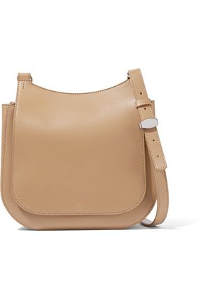 THE ROW Hunting 9 leather shoulder bag