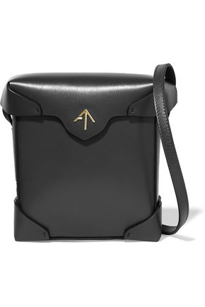 MANU ATELIER Pristine mini leather shoulder bag