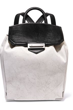 ALEXANDER WANG Prisma paneled leather backpack