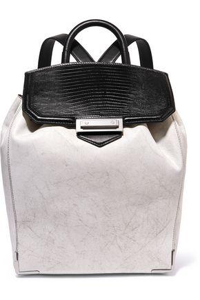 ALEXANDER WANG Prisma paneled leather backpack