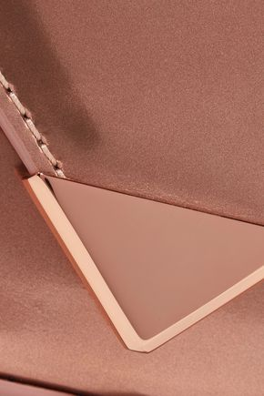 ALEXANDER WANG Mini Prisma mirrored-leather shoulder bag