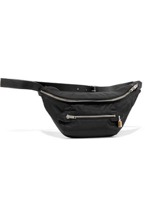 ALEXANDER WANG Leather-trimmed shell belt bag