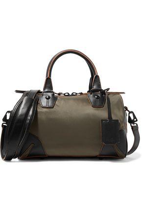 RAG & BONE Flight leather-trimmed shell shoulder bag