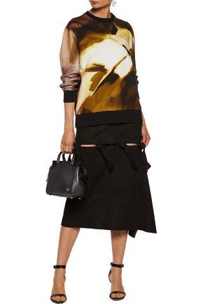 GIVENCHY Textured-leather shoulder bag
