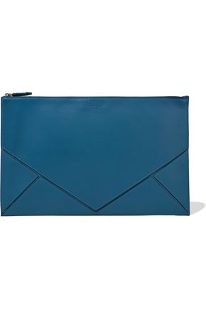 GIVENCHY Easy paneled leather clutch