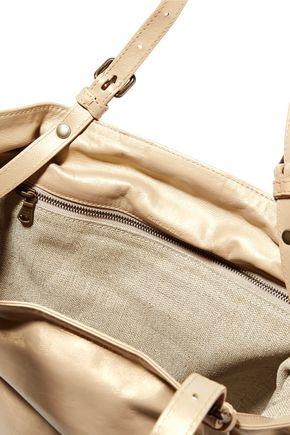 TOMAS MAIER Metallic leather tote