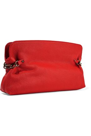 TOMAS MAIER Textured-leather clutch