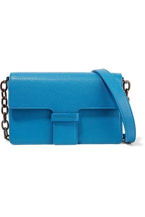 TOMAS MAIER Textured-leather shoulder bag
