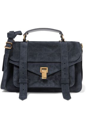 PROENZA SCHOULER The PS1 medium suede shoulder bag