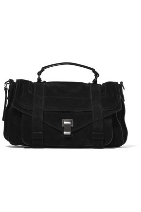 31ab222bd255 PROENZA SCHOULER The PS1 medium suede shoulder bag
