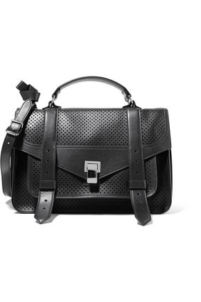 PROENZA SCHOULER The PS1 medium perforated and smooth leather shoulder bag