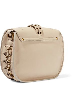 JEROME DREYFUSS Victor embellished leather shoulder bag