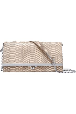 MAISON MARGIELA Snake-effect leather shoulder bag