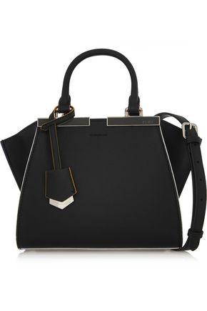 FENDI 3Jours mini textured-leather tote