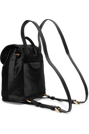 DIANE VON FURSTENBERG Satin backpack