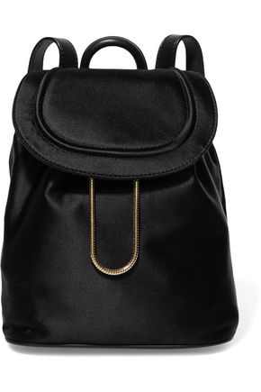 DIANE VON FURSTENBERG Satin backpack