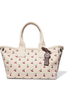 MARC BY MARC JACOBS Embroidered cotton-canvas tote