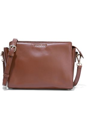 SANDRO Amata leather shoulder bag
