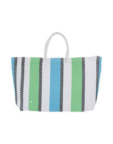 TRUSS レディース ハンドバッグ ホワイト 紡績繊維