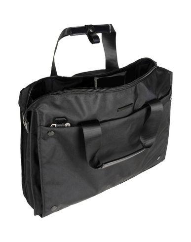 Фото 2 - Деловые сумки от MOMO DESIGN черного цвета