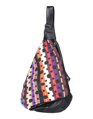 NILA & NILA レディース バックパック&ヒップバッグ ブラック 紡績繊維 / 革