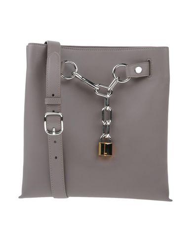 ALEXANDER WANG レディース ハンドバッグ 鉛色 革