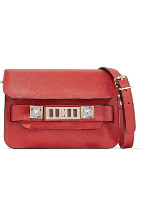 PROENZA SCHOULER PS1 mini textured-leather shoulder bag