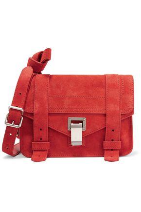 PROENZA SCHOULER PS1 Mini suede shoulder bag