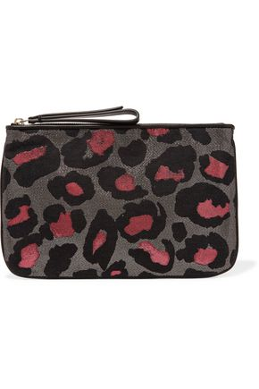 MARC BY MARC JACOBS Roxy metallic jacquard clutch