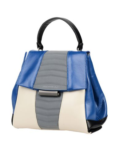 MANDARINA DUCK レディース バックパック&ヒップバッグ ブルー 革 / 紡績繊維