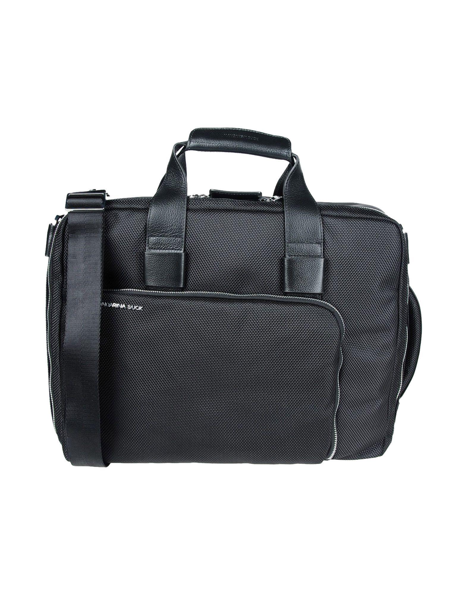 MANDARINA DUCK Work Bag in Black