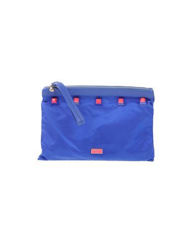 PATRIZIA PEPE レディース ハンドバッグ ブルー 紡績繊維