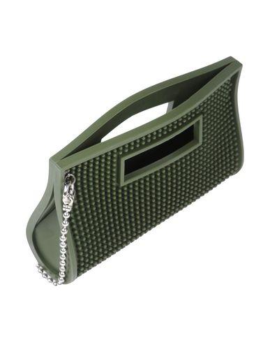 Фото 2 - Сумку на руку от BARMAT цвет зеленый-милитари